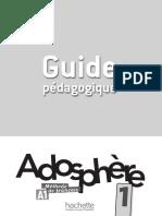 Adosphere1 guide pédagogique