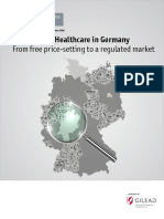 2015 09 the Economist Value Based Healthcare in Germany