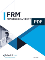 2018 FRM Practice Exam Part I (2)