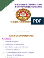1. Engine Fundamentals