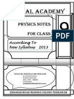 PHYSICS NOTES Badshah Zoodin 1234 for CLASS.docx New (Repaired)