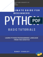 Python Learn Python From the Scratch