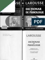 Larousse + Dictionar de Psihologie