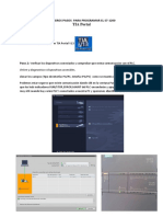 Inicio Programacion PLCS7 1200