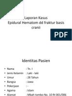 Laporan Kasus Basis Cranii