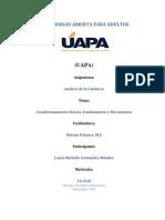Tarea 3, Analisis de La Conducta, Laura Fernandez 14-3242