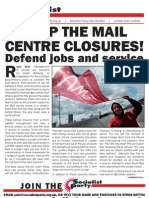 Socialist Party CWU Bulletin