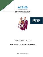 Choral Festival Handbook