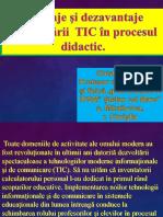 Chistol Vasile Avantaje Și Dezavantaje Ale Utilizării TIC În Procesul Didactic (1)