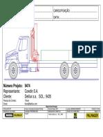 Pkb15500a r2x.0 Internation 4700 6x2 (Calc. Nr. 9474)
