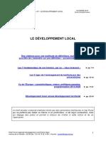 Les Fondamentaux Le Developpement Local