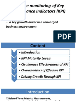Driving Growth Through KPI Monitoring