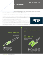 History of Fibre Optics connectors