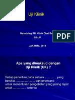 UP 3 Uji Klinik 2018