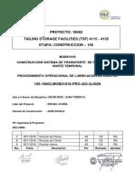 105-MOB01818-PRO-420-Q-0029 Rev. 00