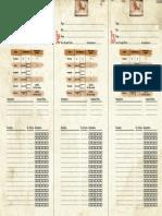 BFaS sheet