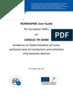 Annex Normapme User Guide on Cenelec Tr 50480-July 2011