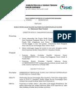Surat Keputusan Direktur Rshd