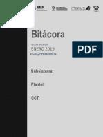 Bitacora Cteems Enero 2019