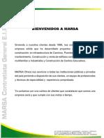Brochure Marsa 2018