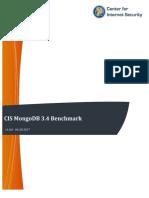Cis Benchmark Mongo 3.4