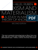 Marxism and Materialism