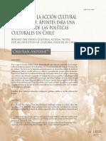 Antoine, C. - A.2015 - Mas Alla de La Accion Cultural Del Estado