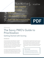 The Savvy PMO's Guide to Priortization - 1709_final
