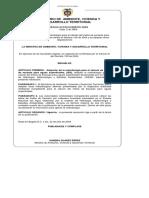 Resolucion Mavdt 865 de 2004