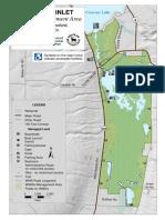 Map of Conesus Inlet WMA