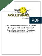 Guia de Voleibol
