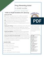 4th grade newsletter 1-7-19