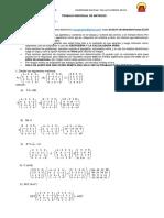 Trabajo de Matrices II-A