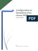 Configuration Et Simulation Dun Réseau WIFI TADJINE Samir MOULLA Badrezzine Réseaux Et Télécom M2