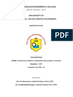 EE6009-Power Electronics for Renewable Energy Systems
