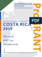 2610 ProGRANT Call Costa Rica