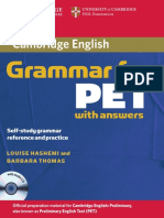 164- Cambridge Grammar for PET With Answers_Hashemi, Thomas_2013 -226с