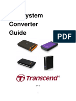 Transcend Portable Disk Tutorial