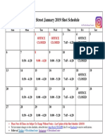 Shot Calendar PN January 2019