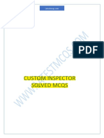 Custom Inspector Mcqs (1)
