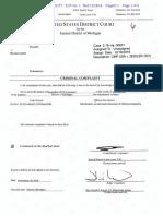 Michael Zeidler Criminal Complaint