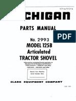 Catalogo Carregadeira Michigan 125B