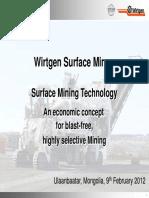 Wirtgen Surface Miner