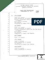 Coliseum - Grand Jury Proceedings