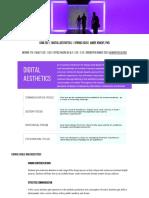 COM202 Digital Aesthetics