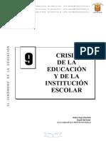 EL FENOMENO DE LA EDUCACION