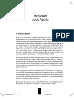 Manual Del Juicio Agrario Con Formatos