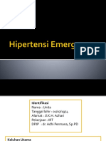 Hipertensi Emergency (Lapjag)