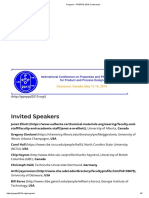 Program – PPEPPD 2019 Conference