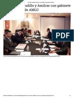 04-01-2019 Se reúnen Astudillo y Amílcar con gabinete de Seguridad de AMLO.